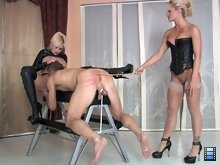Holly knows that Skyla gets all wet when she sees bitches being caned..