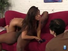 The Cuckol session gains momentum when Reena has her boyfriend put on the male chastity belt..