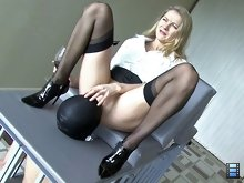 When she got home, she found her slave hadn't done any of his domestic duties and this enraged her.