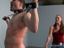 More specifically, she loves men that are willing to endure significant pain and torture for her.